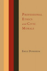Omslag - Professional Ethics and Civic Morals