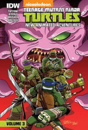 Teenage Mutant Ninja Turtles: New Animated Adventures: Volume 3 av David Tipton og Scott Tipton (Innbundet)