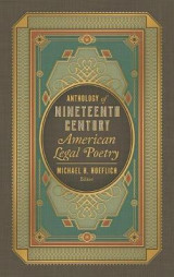 Omslag - Anthology of Nineteenth Century American Legal Poetry