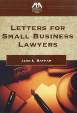 Omslag - Letters for Small Business Lawyers