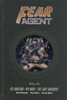 Omslag - Fear Agent Library Edition Volume 1
