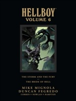 Omslag - Hellboy Library Edition Volume 6: The Storm And The Fury And The Bride Of Hell