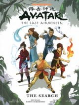 Omslag - Avatar: The Last Airbender: Search