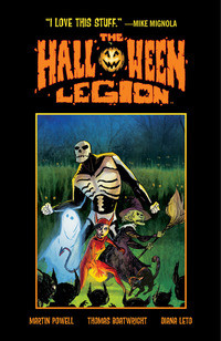 The Halloween Legion av Martin Powell (Innbundet)