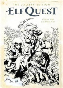 Elfquest: The Original Quest Gallery Edition av Wendy Pini og Richard Pini (Innbundet)