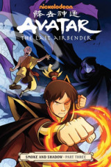 Omslag - Avatar: The Last Airbender - Smoke And Shadow Part 3