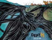 Dept. H Volume 2: After The Flood av Matt Kindt (Innbundet)