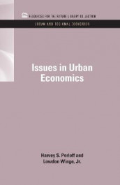 Issues in Urban Economics av Harvey S. Perloff og Lowdon Wingo Jr. (Innbundet)