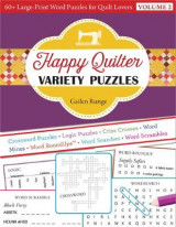 Omslag - Happy Quilter Variety Puzzles-Volume 2