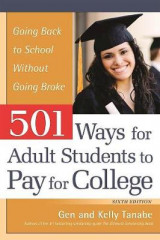 Omslag - 501 Ways for Adult Students to Pay for College