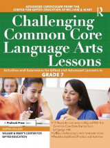 Omslag - Challenging Common Core Language Arts Lessons (Grade 7)