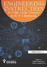 Omslag - Engineering Instruction for High-Ability Learners in K-8 Classrooms
