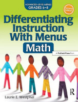 Omslag - Differentiating Instruction with Menus: Math (2nd Ed.)