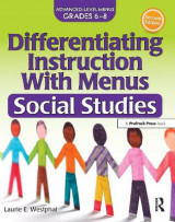 Omslag - Differentiating Instruction with Menus: Social Studies (2nd Ed.)