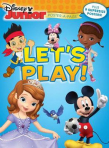 Disney Junior: Let's Play! Poster-A-Page av Disney (Heftet)