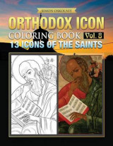 Omslag - Orthodox Icon Coloring Book Vol. 8