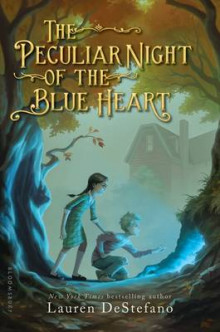 The Peculiar Night of the Blue Heart av Lauren DeStefano (Innbundet)