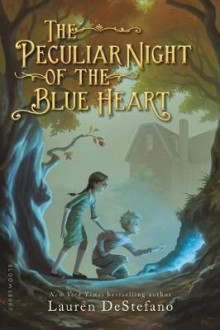 The Peculiar Night of the Blue Heart av Lauren DeStefano (Heftet)