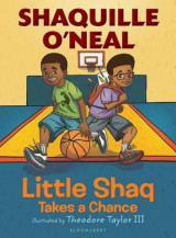 Omslag - Little Shaq Takes a Chance