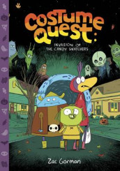 Costume Quest: Invasion of the Candy Snatchers av Zac Gorman (Innbundet)