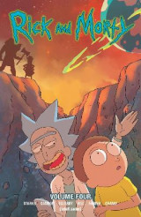 Omslag - Rick and Morty, Volume 4