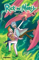 Omslag - Rick and Morty Hardcover Book 2