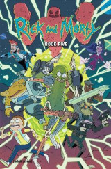 Omslag - Rick and Morty Book Five, Volume 5