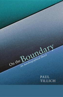 On the Boundary av Paul Tillich (Heftet)