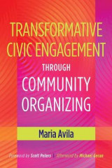 Omslag - Transformative Civic Engagement Through Community Organizing