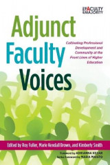 Omslag - Adjunct Faculty Voices