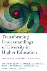Omslag - Transforming Understandings of Diversity in Higher Education