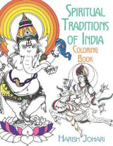 Omslag - Spiritual Traditions of India Coloring Book