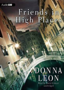 Friends in High Places av Donna Leon (Lydbok-CD)