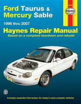 Omslag - Ford Taurus & Mercury Sable Automotive Repair Manual