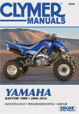 Omslag - Yamaha Raptor Clymer Motorcycle Repair Manual