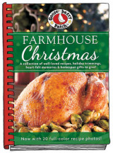 Omslag - Farmhouse Christmas Cookbook