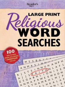 Reader's Digest Large Print Religious Word Search (Heftet)