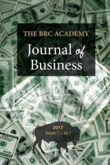 Omslag - The Brc Academy Journal of Business