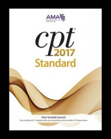 CPT 2017 av American Medical Association (Heftet)