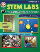 Omslag - Stem Labs for Earth & Space Science, Grades 6 - 8