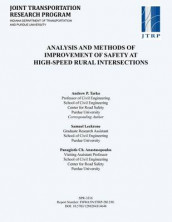 Analysis and Methods for Improvement of Safety at High-Speed Rural Intersections av Panagiotis Ch Anastasopoulos, Samuel Leckrone og Andrew P Tarko (Heftet)