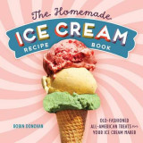 Omslag - The Homemade Ice Cream Recipe Book