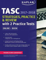 Omslag - Tasc Strategies, Practice & Review 2017-2018 with 2 Practice Tests