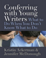 Omslag - Conferring with Young Writers