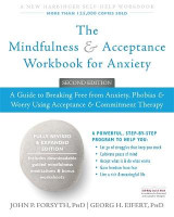 Omslag - The Mindfulness and Acceptance Workbook for Anxiety