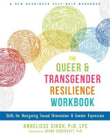 Omslag - The Queer and Transgender Resilience Workbook