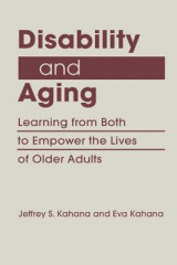 Omslag - Disability and Aging