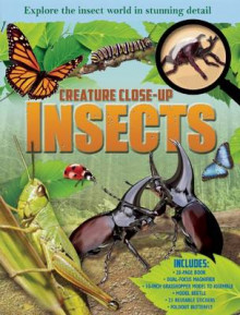 Creature Close-Up: Insects av John Woodward (Innbundet)