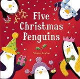 Omslag - Five Christmas Penguins