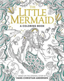The Little Mermaid: A Coloring Book av Hans Christian Andersen (Heftet)